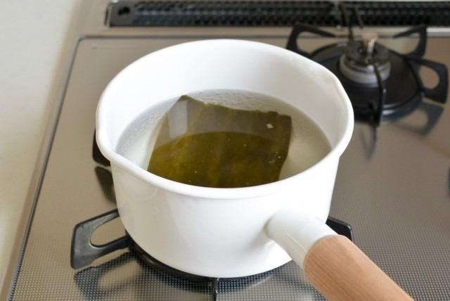 かつおだしではなく、昆布だしのインスタントみそ汁をつくってほしい!