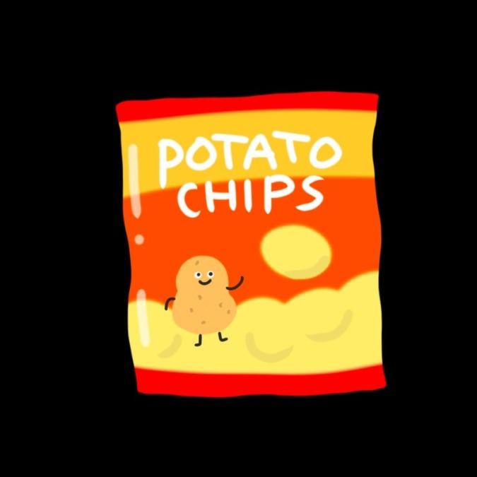 ポテトチップスのいろんな味をミニサイズで♪