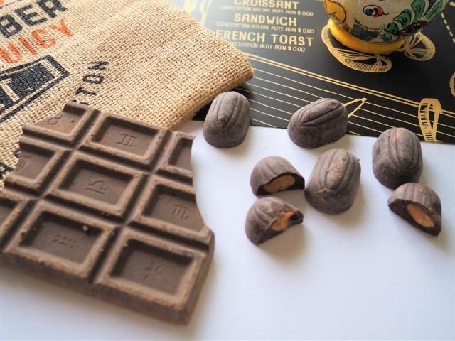 ハイカカオチョコレートを使用したアイスを作ってください!